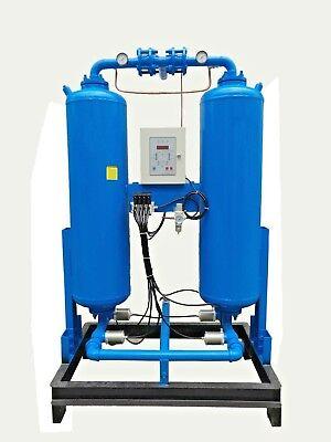 Dry-max Twin Tower Regenerative Desiccant Dryer 35 Cfm Including Filter Pack
