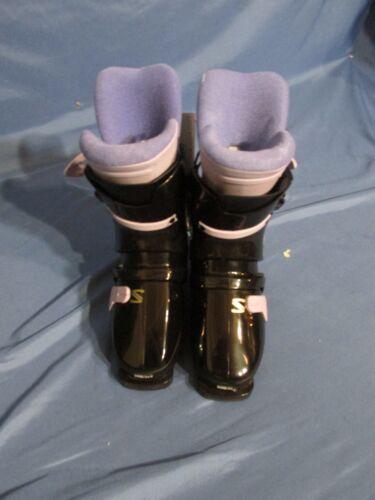 Details about New Women's Salomon SX 50 5.0 Lady Snow Ski Boots Black & Purple Size 23 (5.5)