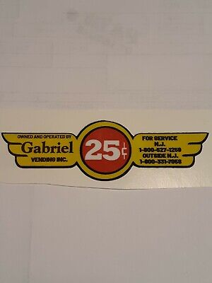 Gabriel gumball machine Decal