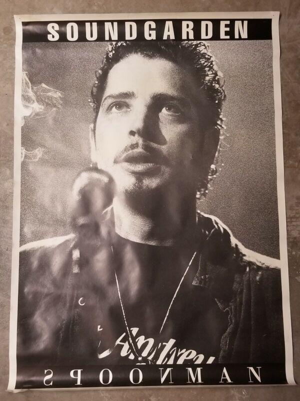 Soundgarden Spoonman Poster Vintage-Chris Cornell