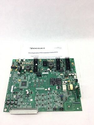 Usedvideojet 378900 Pcb Print Application Pc Board Fast Ship B381