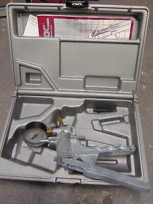 Mityvac Silverline Vacuum Pump W Gauge Manual Case