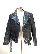 Vintage Vanson Leather Jacket
