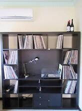 PRICE REDUCED!  Brown Black IKEA Entertainment Centre $100 Cottesloe Cottesloe Area Preview