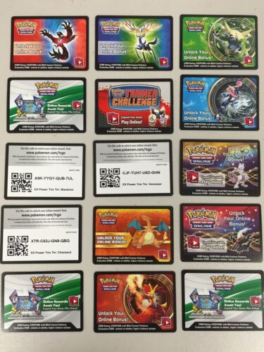 Pokemon TCG ONLINE : VIRTUAL CARD 15 NEW EX & MEGA CODE ...