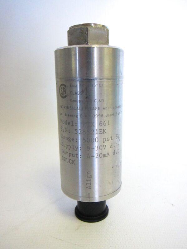 Druck PTX-661 5000 PSI 9-30V D.C. PTX661 PTX661 Pressure Transmitter