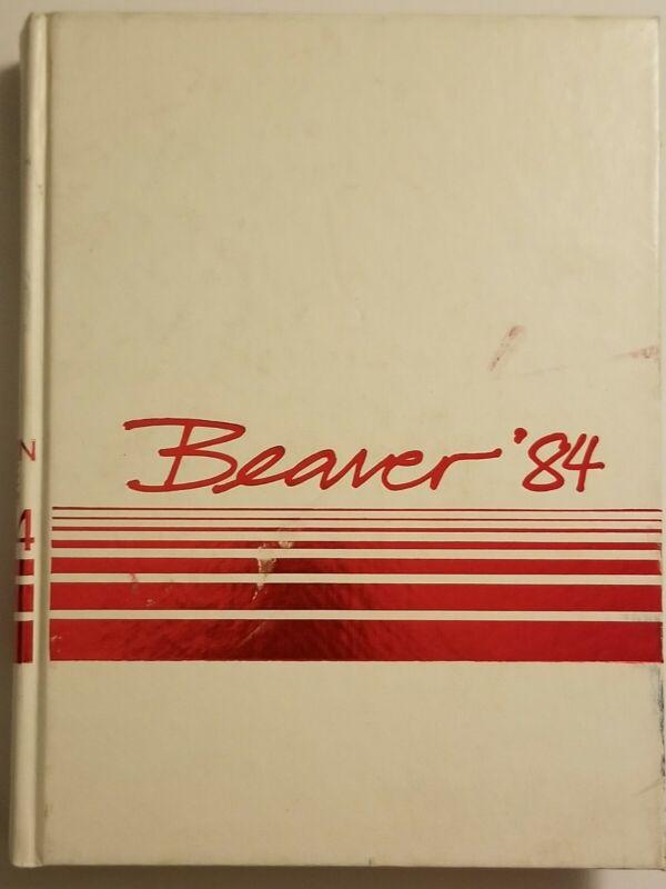 AC Green LA LAKERS JR YEAR 1984 OREGON STATE Beavers UNIVERSITY YEARBOOK