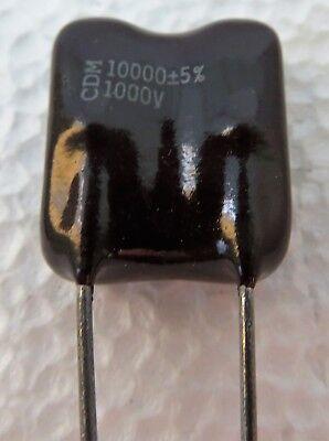 Cdv30ff103j03 Cornell Dublier Mica Capacitor Standard Dipped 10000pf 1kv