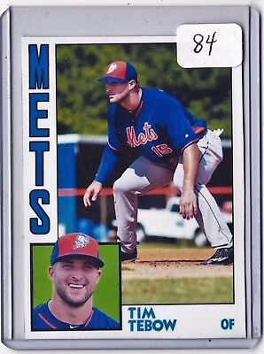 Tim Tebow 84 Aceo Art Card    Free Combined Shipping