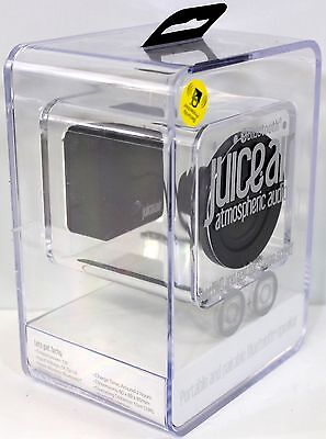 Juice Air Bluetooth Portable Speaker iPhone Android Transparent White & Black x5