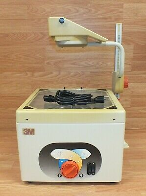 Genuine Vintage 3M (1608-AJA) 120V 60Hz 290w Overhead Projector & Power Supply