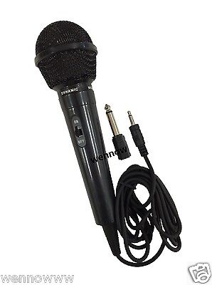 10 Ft Super Sound Uni-Directional Dynamic Wired Handheld Microphone