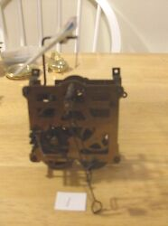 1 Day German Cuckoo Clock Works ( Movement) With Bird Parts or Repair