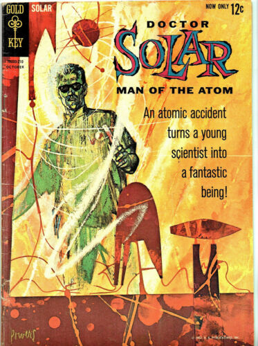 Doctor Solar, Man of the Atom (Gold Key) #1 (1962)  Condition: (VG/FN)