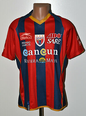 ATLANTE MEXICO 2000`S HOME FOOTBALL SHIRT JERSEY ATLETICA SIZE M ADULT image