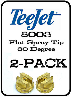 Teejet Brass Spray Tip Nozzle 8003 Part Tp8003 Tp-8003