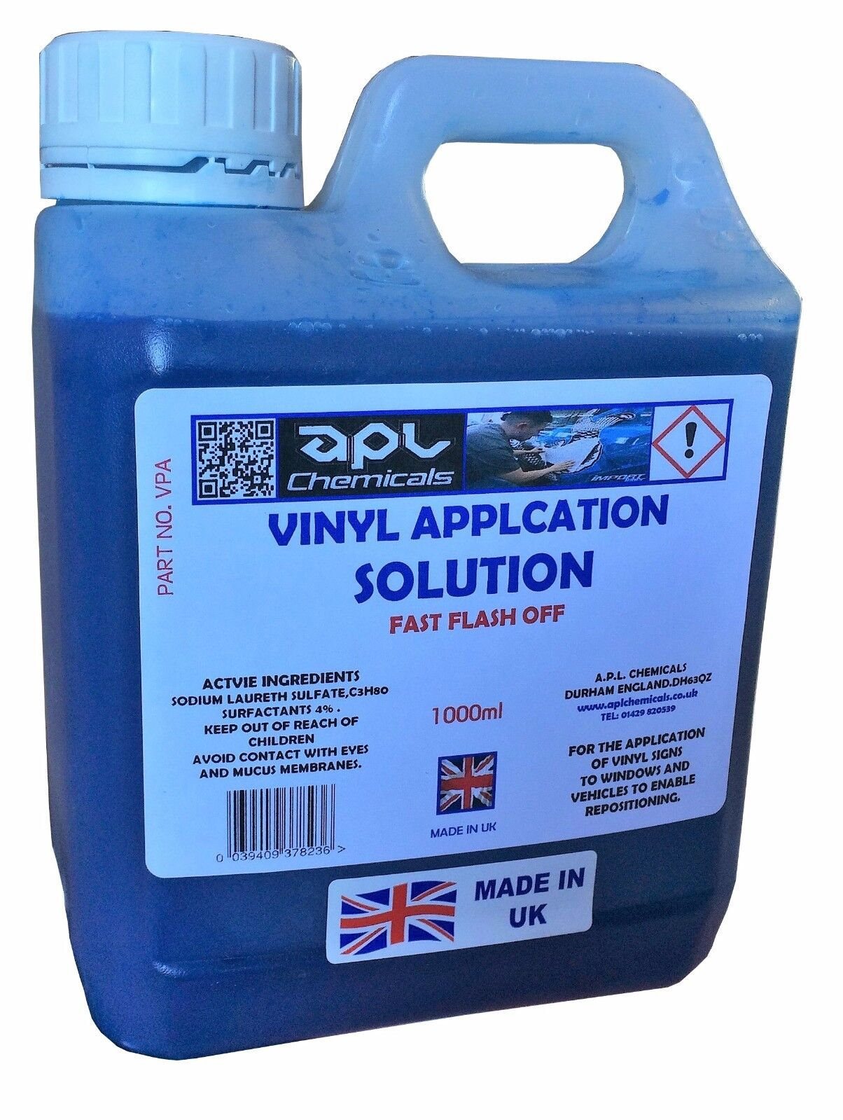 vinyl application fluid decal slide 1 litre with trigger spray free.