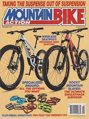Mountain Bike Action February 2020 Magazine New Mountain Bike Action Magazine