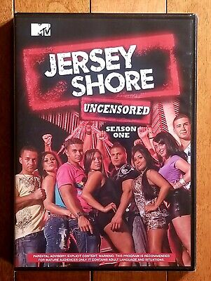 Jersey Shore: Complete First Season Uncensored (DVD, 2010) *Factory Sealed*