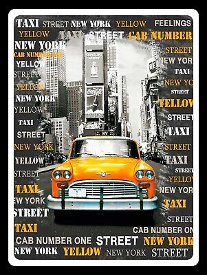 New York, retro vintage style metal sign/Plaque Gift