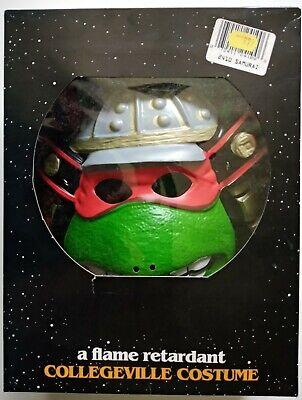Vintage 1992 Teenage Mutant Ninja Turtle Collegeville Samurai Costume 100% Vinyl