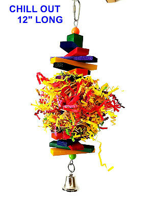 Chill Out Parrot Bird Toy Cage Toys for macaw african grey cockatoo mini macaw