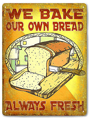 Deli bread sub Sandwich bakery METAL SIGN great gift diner vintage style 590