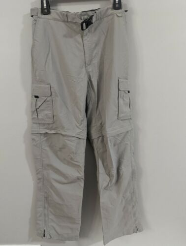 Eastern Mountain Sport Men s Gray Pants Hiking Size 30/32 Straight - $8.99