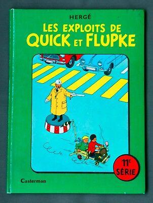 HERGE - LES EXPLOITS DE  QUICK ET  FLUPKE  11E SERIE - EO - 1969