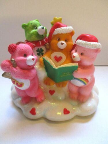 Christmas with the Care Bears Figure Carlton Cards 2003
