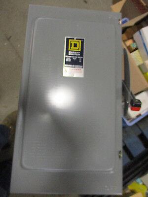 Square D H224 Series D 200 Amp 240 Volt 2p2w Fusible Disconnect - New