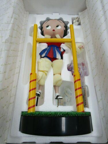 Danbury Mint Betty Boop Cheerleader by Syd Hap Figurine