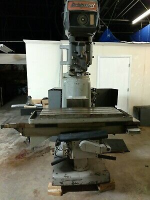 Bridgeport Vertical Milling Machine 4 Hp Series Ii 2 Nc Conversion