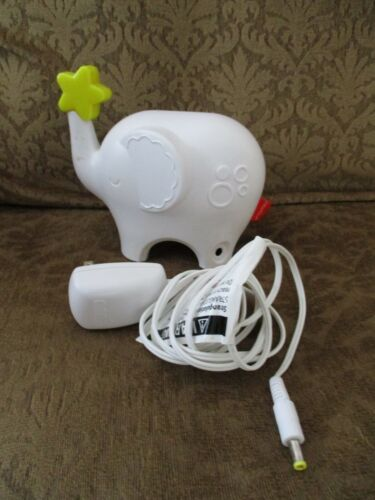 Fisher Price Music & Lights ELEPHANT Sleep Soother w/ Night Light Security