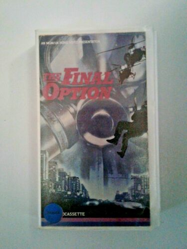 The Final Option VHS (1982)