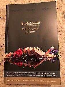 Entertainment Book vouchers Melbourne******2017 Eltham Nillumbik Area Preview