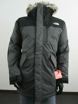 Mens TNF The North Face Bedford Down Parka Warm Insulated Winter Jacket - Gray