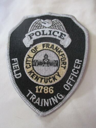 City of Frankfort Kentucky Police Field Training Officer Shoulder Patch