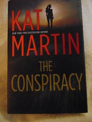 THE CONSPIRACY  Kat Martin - New York Times bestseller - 2019 - BRAND NEW