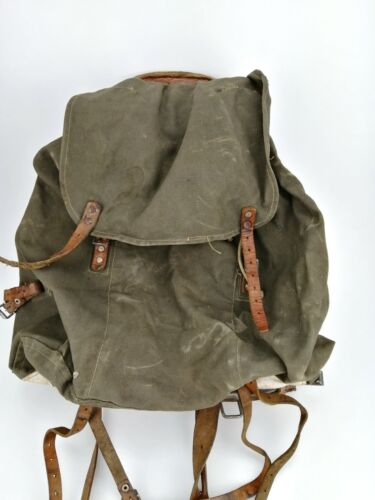 Swedish military backpack WWII with frame