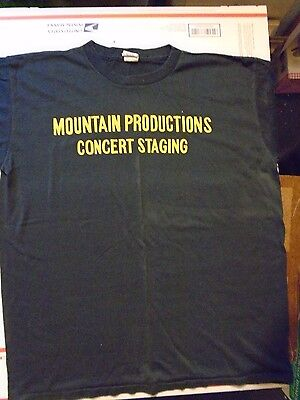 Mountain Production Concert Staging Crew Tee Shirt