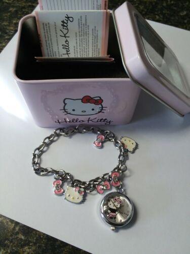 Hello Kitty Charm Bracelet Watch New with Box