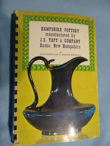 HAMPSHIRE POTTERY Manufactured by J S Taft & Co Collectors Guide