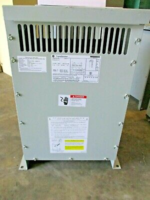 Ge 9t10a1001g33 15 Kva 480 X 120208 Volt 3 Phase Transformer Ns-t1711- New