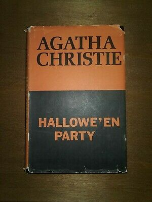 Poirot Halloween Party (Agatha Christie~1969~Hallowe'en Party~Halloween~Hercule Poirot~HB~DJ~Book Club)