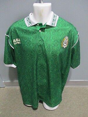 309c8b843b416 seleccion mexicana ABA SPORTS jersey mexico x-large USED
