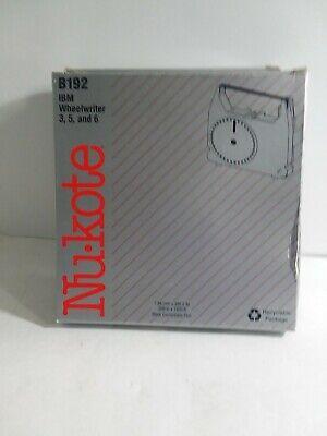 3x New Nukote B192 Bm Wheelwriter 3 5 6 Replacement Ribbon