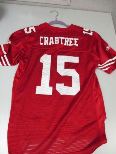 Reebok SAN FRANCISCO 49ERS  JERSEY #15 MICHAEL CRABTREE NFL