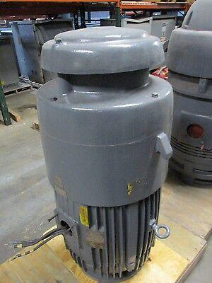 Us Motors Hollow Shaft Vertical Mount Motor K11 82001439-002r 100hp 3ph Used