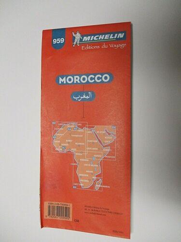 MICHELIN MAP # 959 -MOROCCA - 2000-2001 - VERY GOOD SHAPE